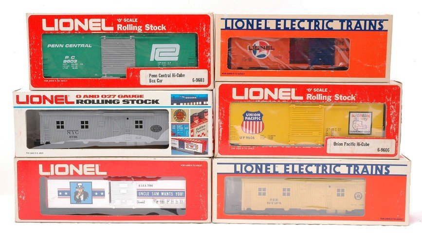 11: Lionel 7700 9603 9606 9492 5724 5735 MINT OBs