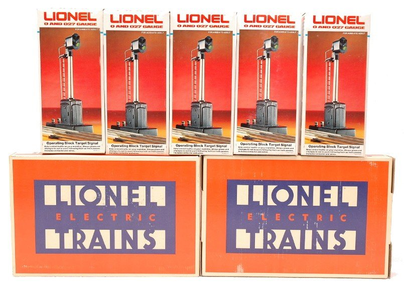 20: Lionel 2-5133 Switches 5-2117 Target Signals MIB