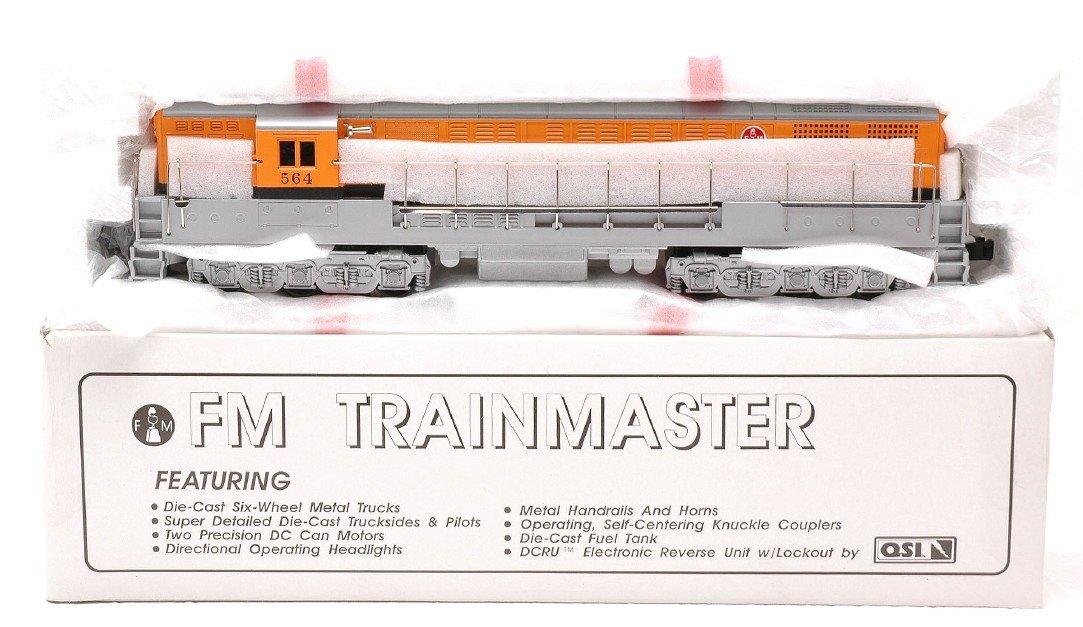 21: Weaver D&RG FM Train Master Factory MIB