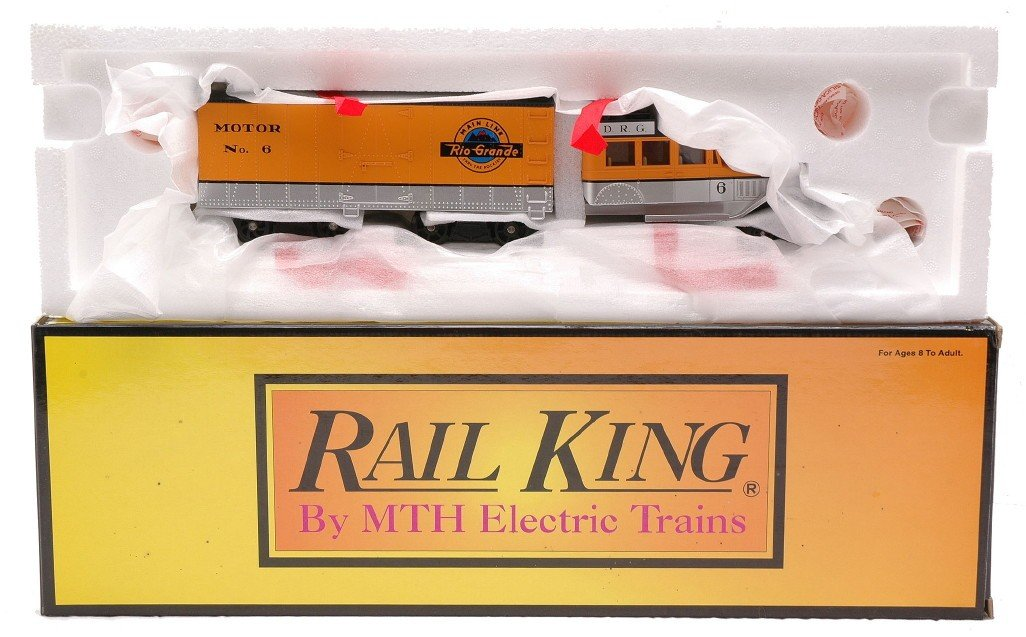 22: RK by MTH 30-2203-1 DR&G Galloping Goose MIB