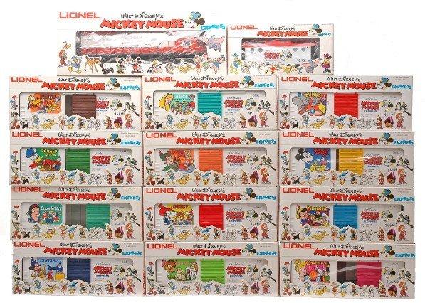 66: Lionel Disneys Mickey Mouse Express Set MIB