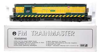 239: Williams SA-1002 C&NW FM Train Master OB