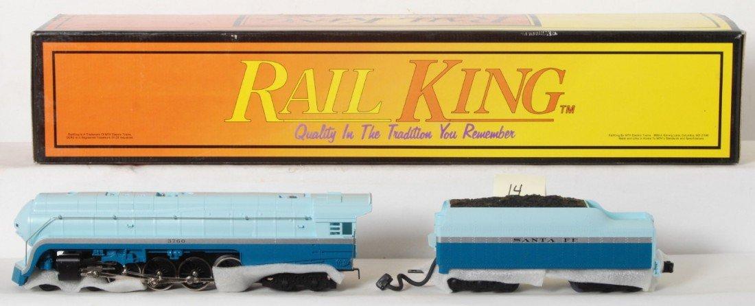14: Railking Santa Fe Blue Goose Northern 4-8-4