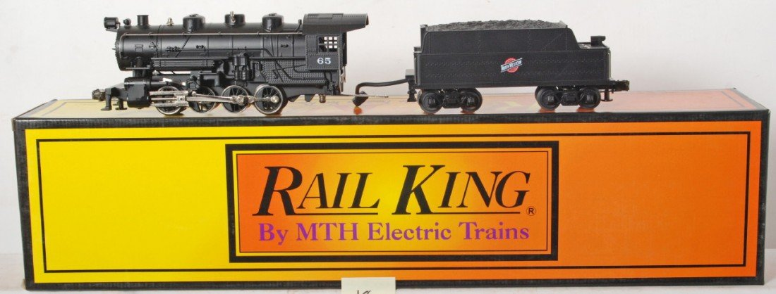 18: Railking Chicago and Northwestern 0-8-0 with Proto
