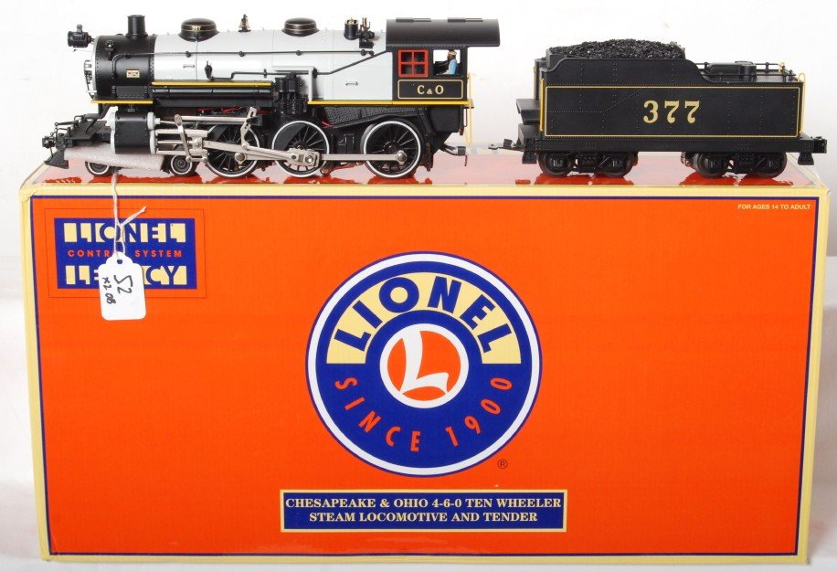52: Lionel Chesapeake and Ohio 4-6-0 with Legacy