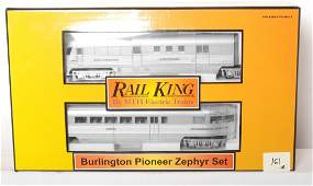 161: Railking Burlington Pioneer Zephyr with Proto