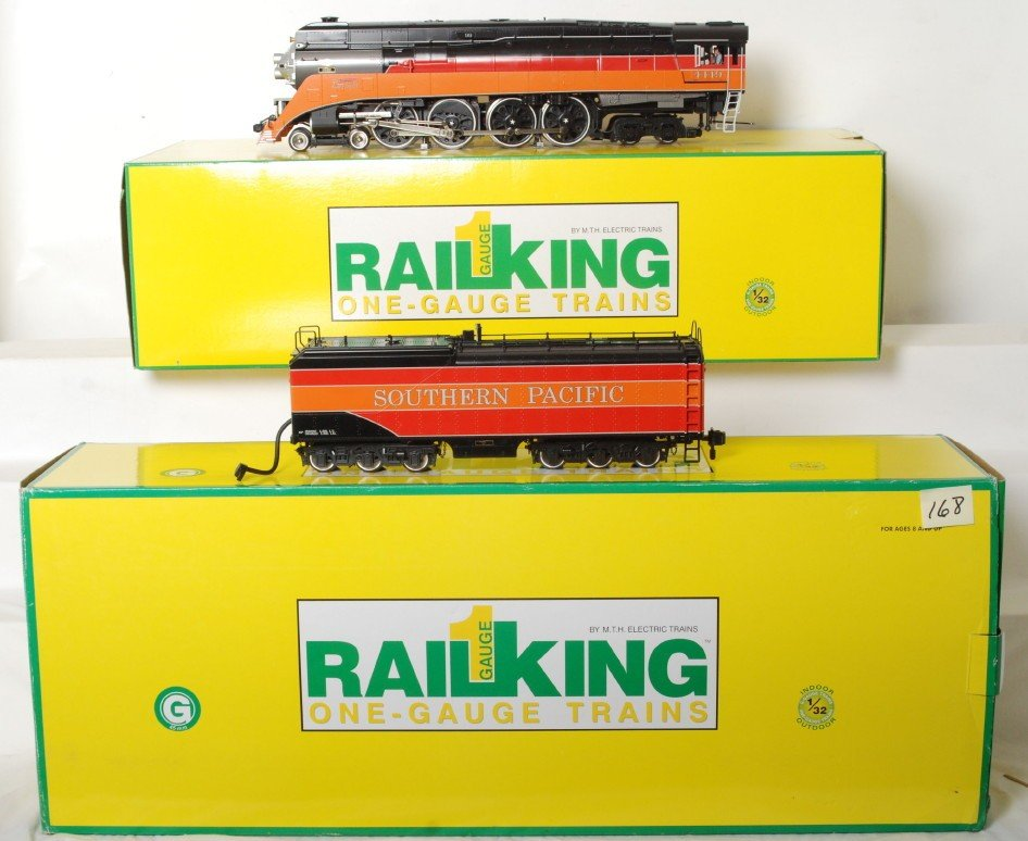 168: Railking one gauge Southern Pacific Daylight GS4