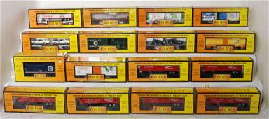 207 16 Railking freight cars 76274 7660 74040 7627