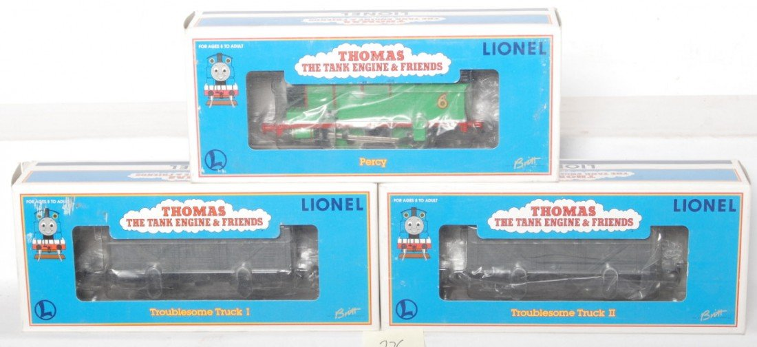 326: Lionel Percy and two troublesome trucks 18722 3603