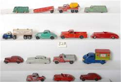 528: Large lot of toy truck and cars, Wyandotte, Tootsi