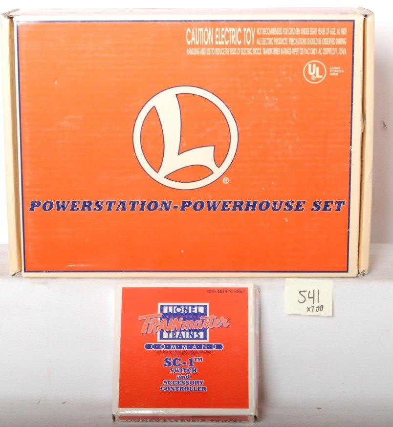 541: Lionel 12938 Powerstation transformer and SC-1
