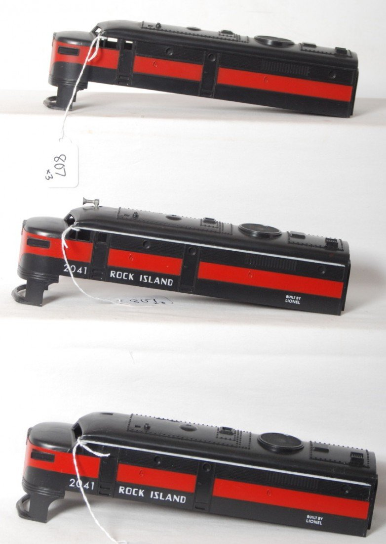 807: Lionel 2041, 2041, undecorated, Alco shells NOS