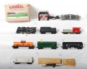 804: Lionel No. 11760 7 unit steam train in OB