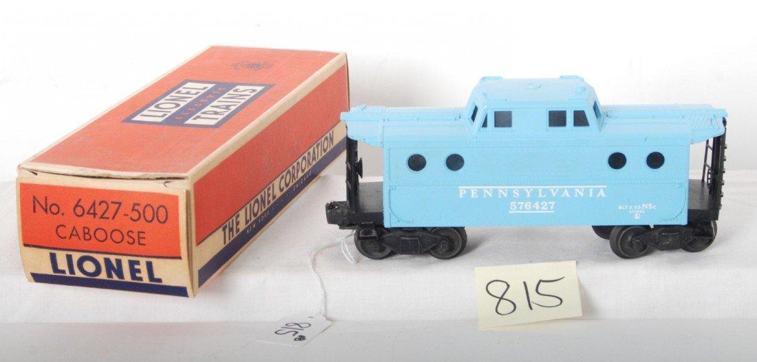 815: Lionel No. 6427-500 Girl's train caboose in OB