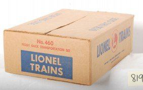 819: Lionel No. 460 Piggy Back Transportation Sealed in
