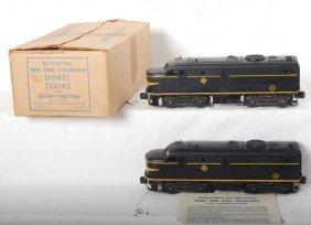824: Lionel 2032 Erie twin diesel locos in OB w/inserts