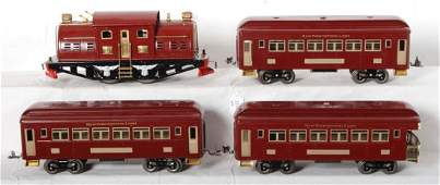 1210 Lionel restored 380 319 322 passenger cars and