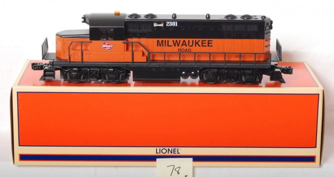 78: Lionel 18574 Milwaukee Road GP20 with TMCC