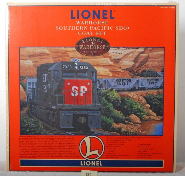 95: Lionel 11940 Southern Pacific Warhorse set sealed