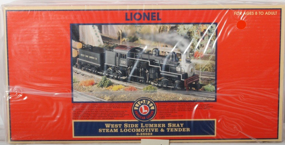 354: Lionel 28022 West Side Lumber shay