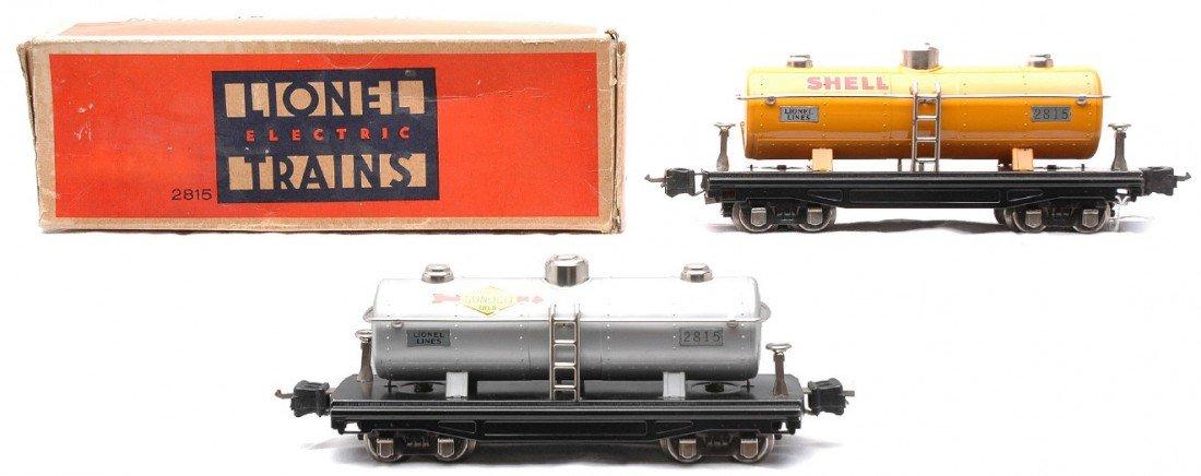 24: Lionel 2815 Aluminum Sunoco 2815 Orange Shell