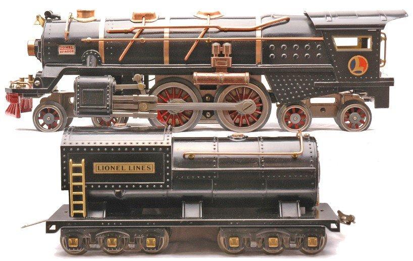 50: Lionel 400E Black Steam Loco 400T Tender OB