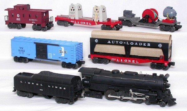 204: Minty Lionel 2509W boxed 665 Hudson set