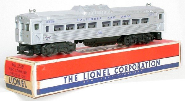 601: Mint Lionel 2559 Budd RDC car in box