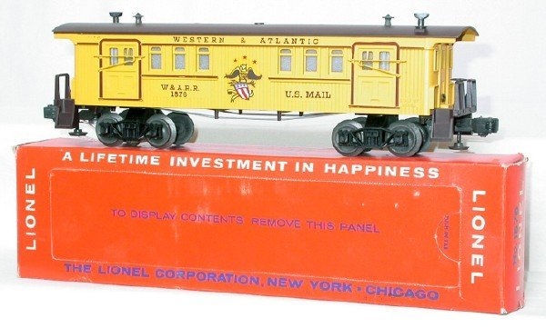 607: Unrun Lionel 1876 Western and Atlantic, OB