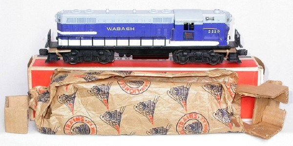 613: Great Lionel 2339 Wabash GP in OB