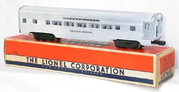 614: Mint Lionel 2533 Silver Cloud aluminum in box