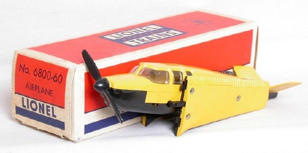 619: Mint Lionel separate sale 6800-60 plane in OB