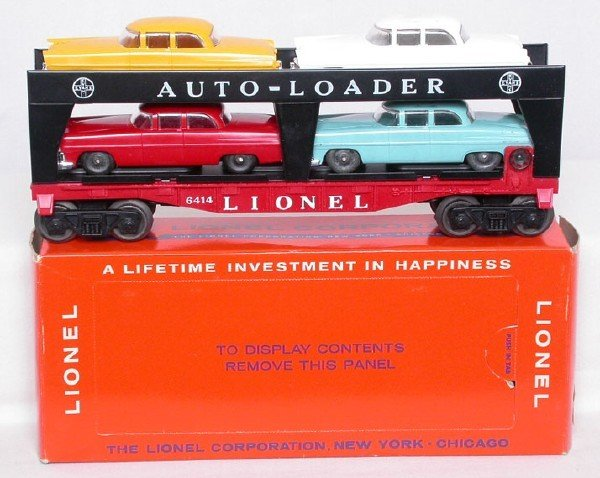 623: Mint Lionel 6414 autoloader in perf box
