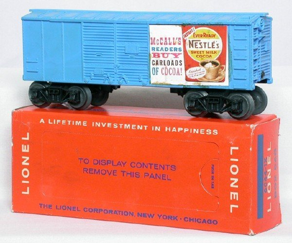646: Rare Lionel 6044-1X Nestle McCalls in OB