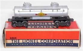854: Tough Lionel 2465 Sunoco centered decal