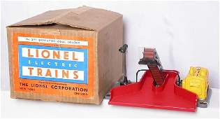 1074: Lionel 397 coal loader with yellow generator, OB
