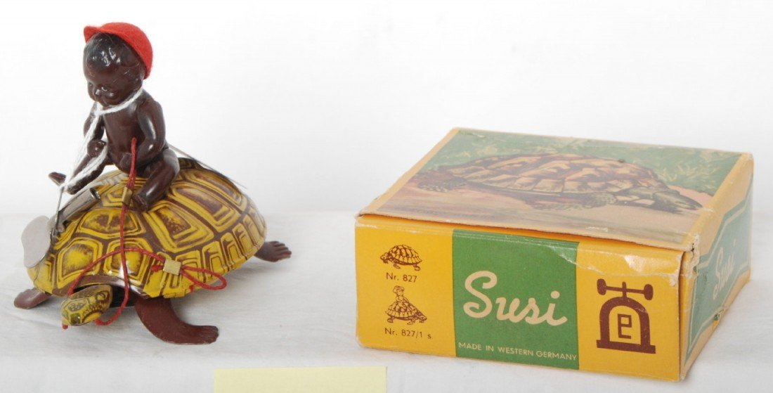 807: Susi, made in W.G. Black Americana mechanical toy
