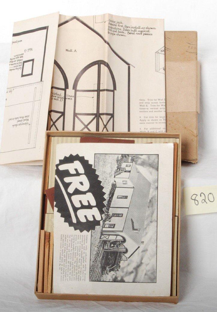 820: The Model Builder Engine House, Lionel Corporation