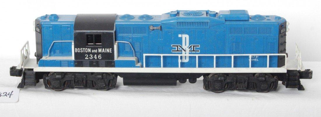 824: Lionel 2346 Boston and Maine GP diesel