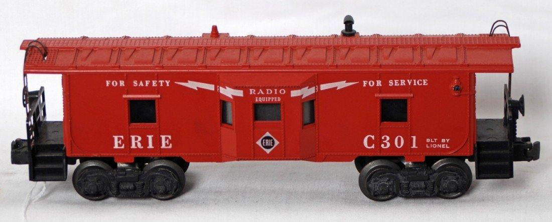877: Lionel 6517-75 Erie bay window caboose