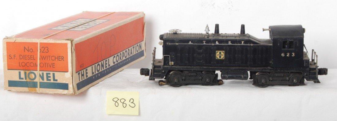 883: Lionel 623 S.F. NW-2 diesel switcher loco in OB w/