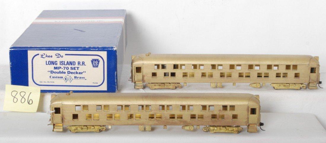 886: Lhee Do NJ Custom Brass L.I. MP-70 set double deck