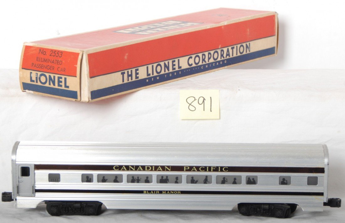 891: Lionel 2553 Canadian Pacific Blair Manor in OB