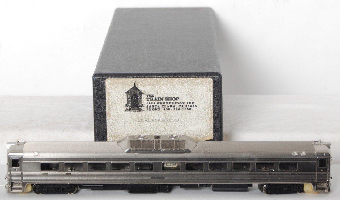 892: The Train Shop brass RDC-1 modernized in OB HO ga.