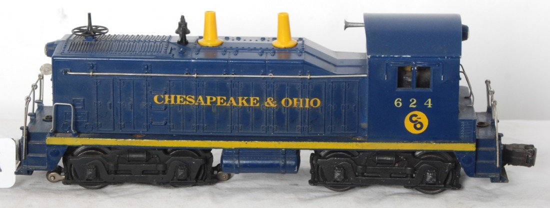 901: Lionel 624 Chesapeake and Ohio NW-2 diesel loco