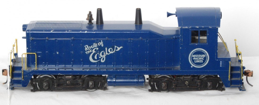 918: All Nation O scale Missouri Pacific NW-2 switcher