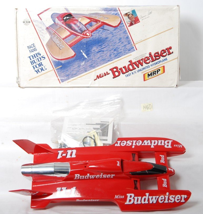 1460: MRP Miss Budweiser Unlimited Hydroplane R/C kit i