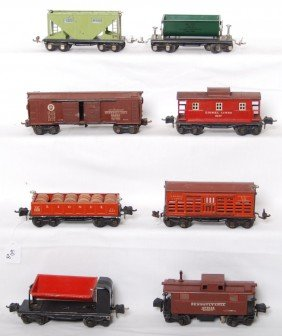 Lionel 656, 2652, 659, 2657, X2758, 653, Two More