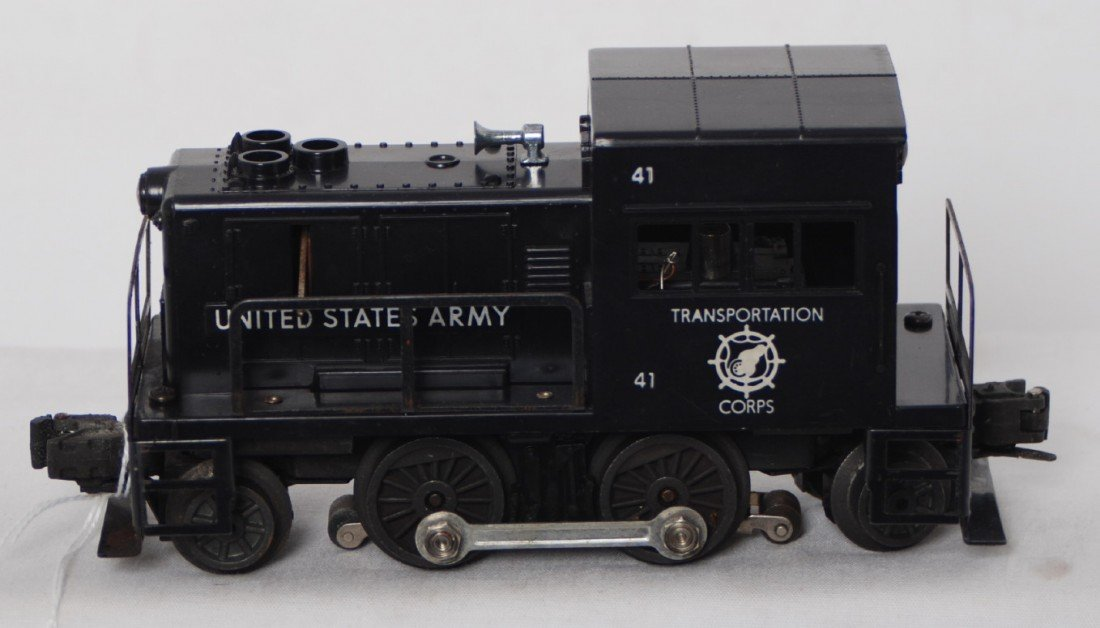65: Lionel 41 United States Army diesel switcher