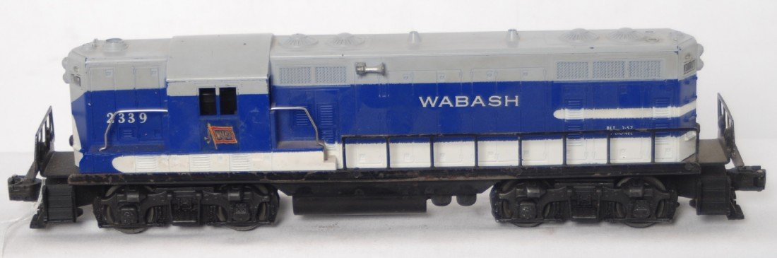 67: Lionel 2339 Wabash GP diesel locomotive switcher